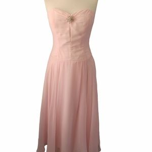 Couture Collection Strapless Dress, Size: 10